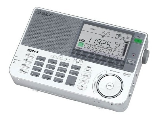 Rádio Sangean Ats-909x Am Fm Stéreo Lw Sw Multibandas Branco