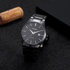 Relógio Masculino Curren Top Luxo Importado Casual