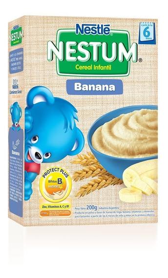 Nestum Banana Cereal Infantil X 200g Nestlé Oficial