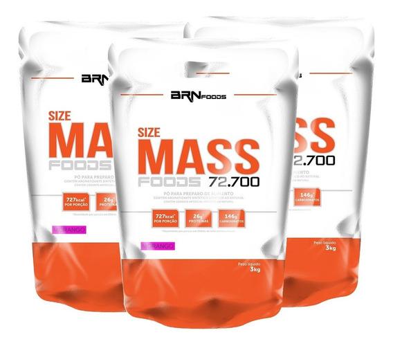 Combo 3x Size Mass - Brnfoods
