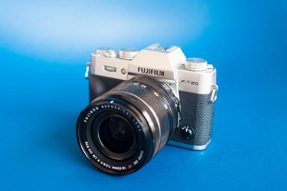 Câmera Mirrorless Fujifilm Fuji Xt20 Com Lente 18-55mm