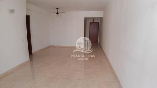 Imagem 1 de 16 de Apartamento Com 2 Dormitórios, 98 M² - Pitangueiras - Guarujá/sp - Ap5722