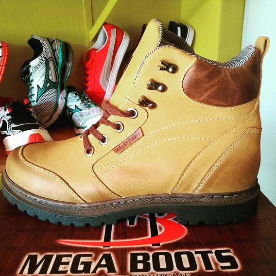 Botas Mega Boots Original ¿% Couro Legítimo