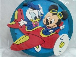 12 Adornos Para Nevera Mickey Mouse Cotillón Regalo Fiesta