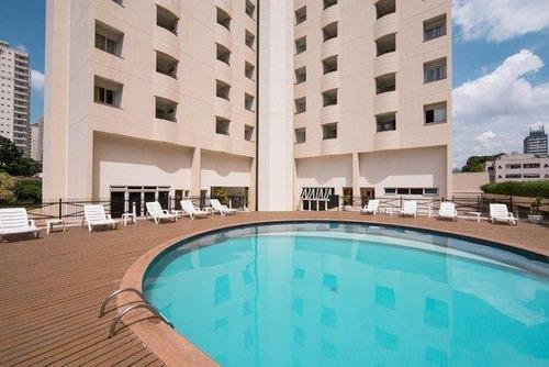 Flat Com 1 Dormitório À Venda, 45 M² Por R$ 180.000,01 - Vila Bastos - Santo André/sp - Fl0033