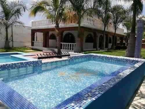 Casa Grande Con Alberca Y Jardin Morelos Caldera Asador
