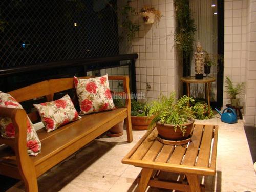 Imagem 1 de 15 de Apartamento 4 Suites Com Vista Parque Burle Marx - Pp20062