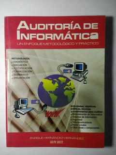 Auditoría De Informática , Enrique Hernández Hernández