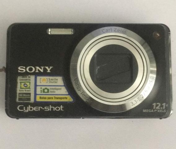 Câmera Fotográfica Sony Dsc-w275 Para Retirar Peças