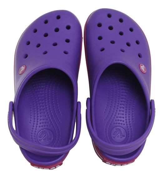 Sandalias Crocs Crocband Mujer Pu/fu