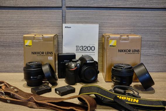 Nikon D3200 + 50mm F1.8g + 35mm F1.8g