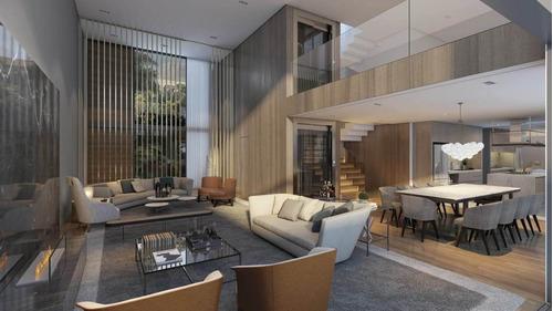 Imagem 1 de 26 de Casa Nova Em Condomínio Fechado Para Venda. Possui 560 M², Em Alto De Pinheiros, Sp. - Ca00062 - 68317637