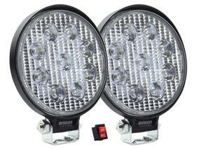 Par Faros Led Osun 27w Anti Niebla Jeep 4x4 Automovil Xenon