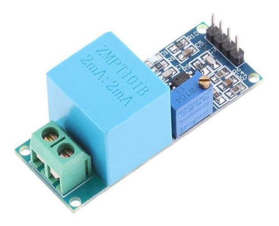 Módulo Sensor Tensão Ac 0-250v Voltímetro Zmpt101b Arduino
