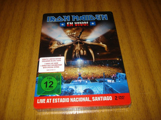 Dvd Iron Maiden / En Vivo (sellado) Caja Metalica - 2 Dvds