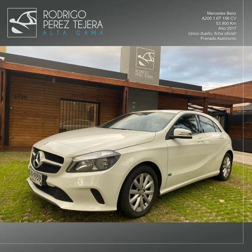 Mercedes-benz Clase A200 Automático - Único Dueño!!