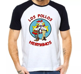 Camiseta Camisa Raglan Los Pollos Hermanos - Breaking Bad