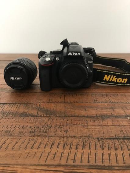 Câmera Nikon D5300 + Lente 18-55 + Cartão 32gb + Bolsa