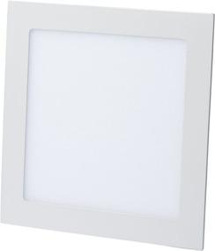 Kit C/5 Luminária Plafon Led 15w Embutir Redonda / Quadrada