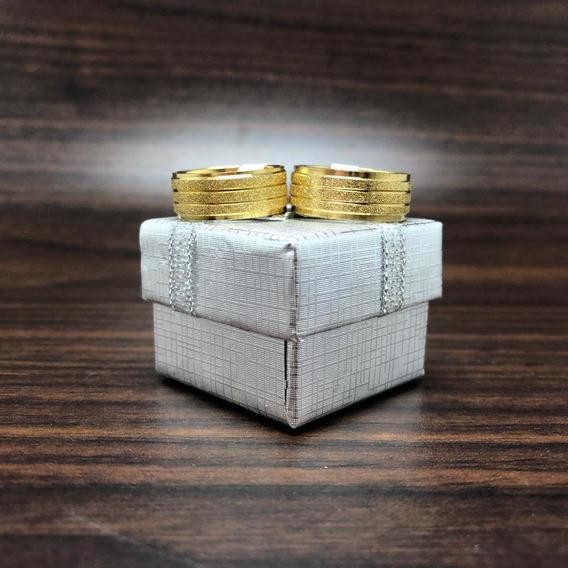 Par De Aliança Moeda Antiga, Namoro+casamento+noivado