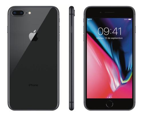 Celular iPhone 8 Plus 64gb Recertificado + Vidrio Templado