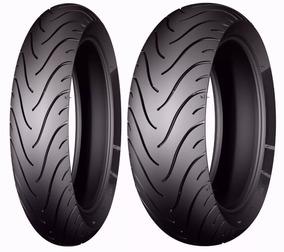 Par Pneu 120/70-17+180/55-17 Michelin Pilot Street Fazer-