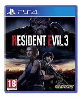Resident Evil 3 Ps4 Digital Primario Entrega Inmediata