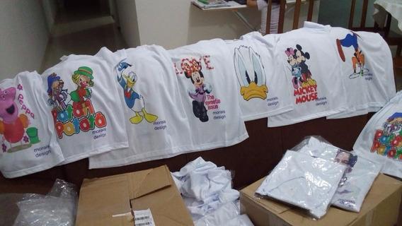 Camisetas Sublimadas Adulto Infantil Estampas Variadas Fotos