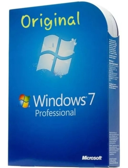 Chave Windows 7 Professional Plus Original 25 Dígitos
