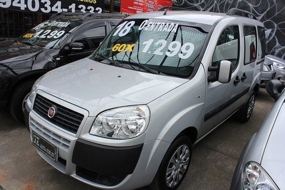 Fiat Doblò Essence 1.8 Manual - Sem Entrada 60x