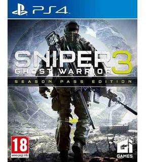 Juego Ps4 Sniper Ghost Warrior 3 Season Pass Edition