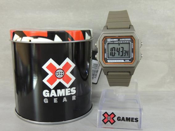 Relógio X Games Vintage Unissex Mod: Xgppd107 Bxmx ( Nf)