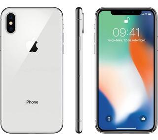 iPhone X Prata 64gb 4g Wi-fi Câmera 12mp