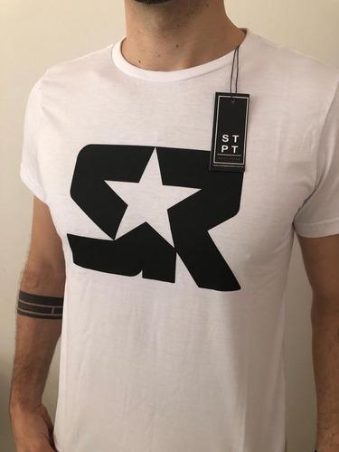 Camiseta S R Branca Oficial Masculina