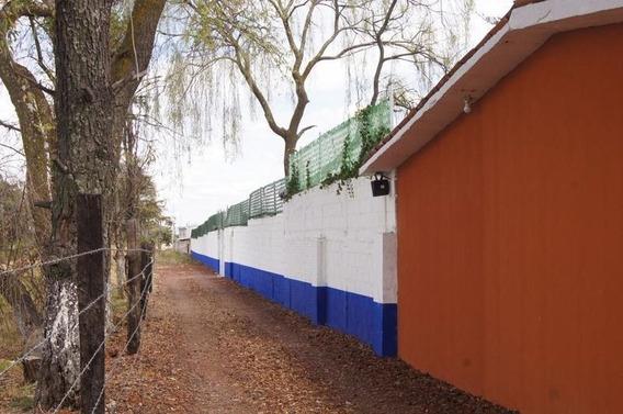 Propiedad En Zinacantepec Terreno Bardeado Y Construcciones