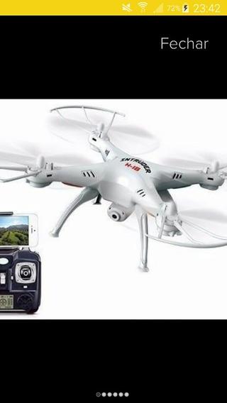 Drone Intruder H18 Com Câmera Frete Grátis