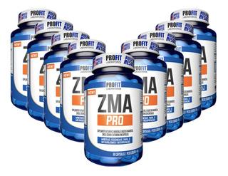 10x Zma (zinco, Magnésio) C/ Picolinato Cromo 90caps Profit
