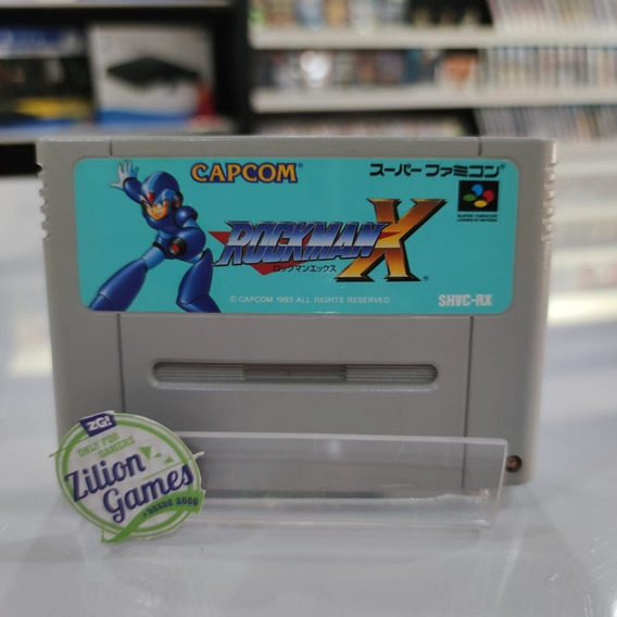 Rockman X Super Famicom Snes Original