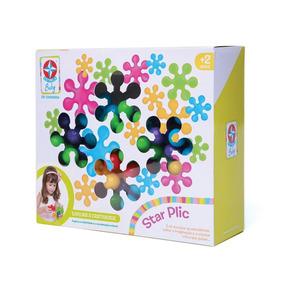 Brinquedo De Montar Educativo Star Plic - Estrela Baby