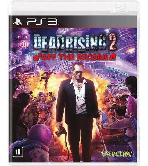 Game Ps3 Dead Rising 2 Off The Record - Original - Novo