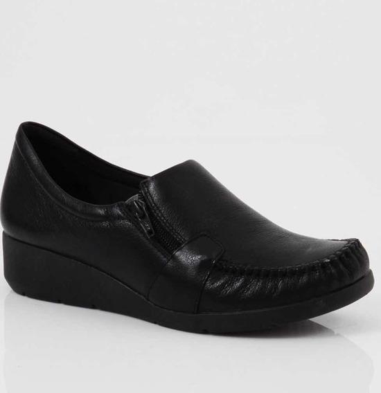 Sapato Feminino Descanso De Coluna Anabela Comfortflex 93302