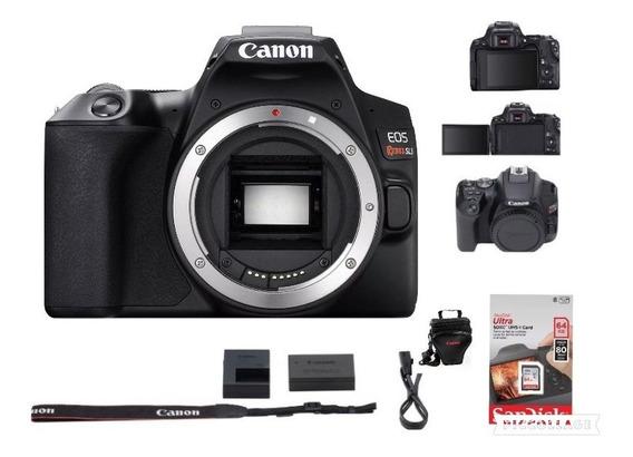 Câmera Canon Eos Rebel Sl3 (somente Corpo) +64g+bolsa