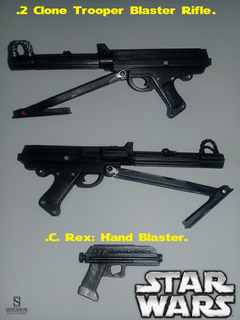 Star Wars: Accesorios Escala 1/6. Sideshow Collectibles.