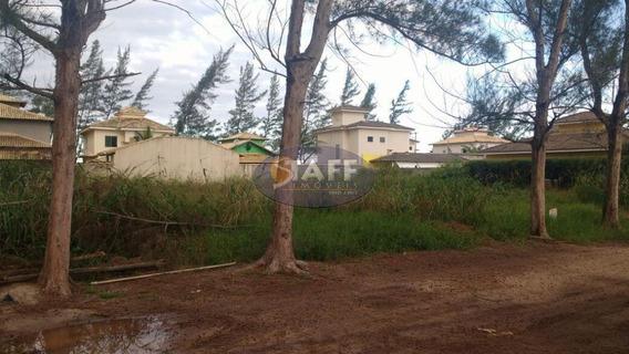 Terreno À Venda, 362 M² Por R$ 160.000,00 - Unamar - Cabo Frio/rj - Te0134