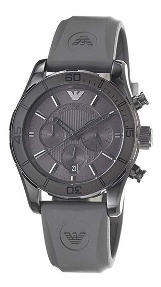 Relógio Emporio Armani Ar5949 Sport Grey Chronograph Dial