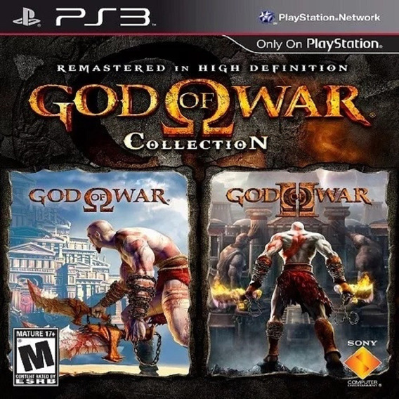 Ps3 God Of War 1 E 2 Collection Hd Play3