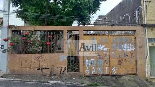 Terreno À Venda, 450 M² Por R$ 1.400.000,00 - Vila Prudente - São Paulo/sp - Te0018