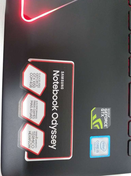 Notebook Gamer Samsung Odissey
