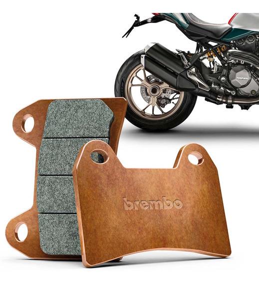 Pastilha Freio Traseira Ducati Monster 1200 Original Dourada