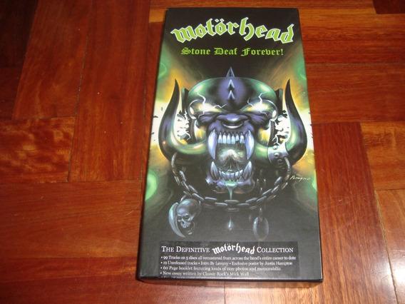 Motorhead Stone Deaf Forever Box 6 Cd Made In Usa